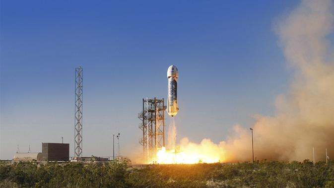 New Shepard, Blue Origin's rocket that successfully carried out a mission for the second time (source: blueorigin.com)